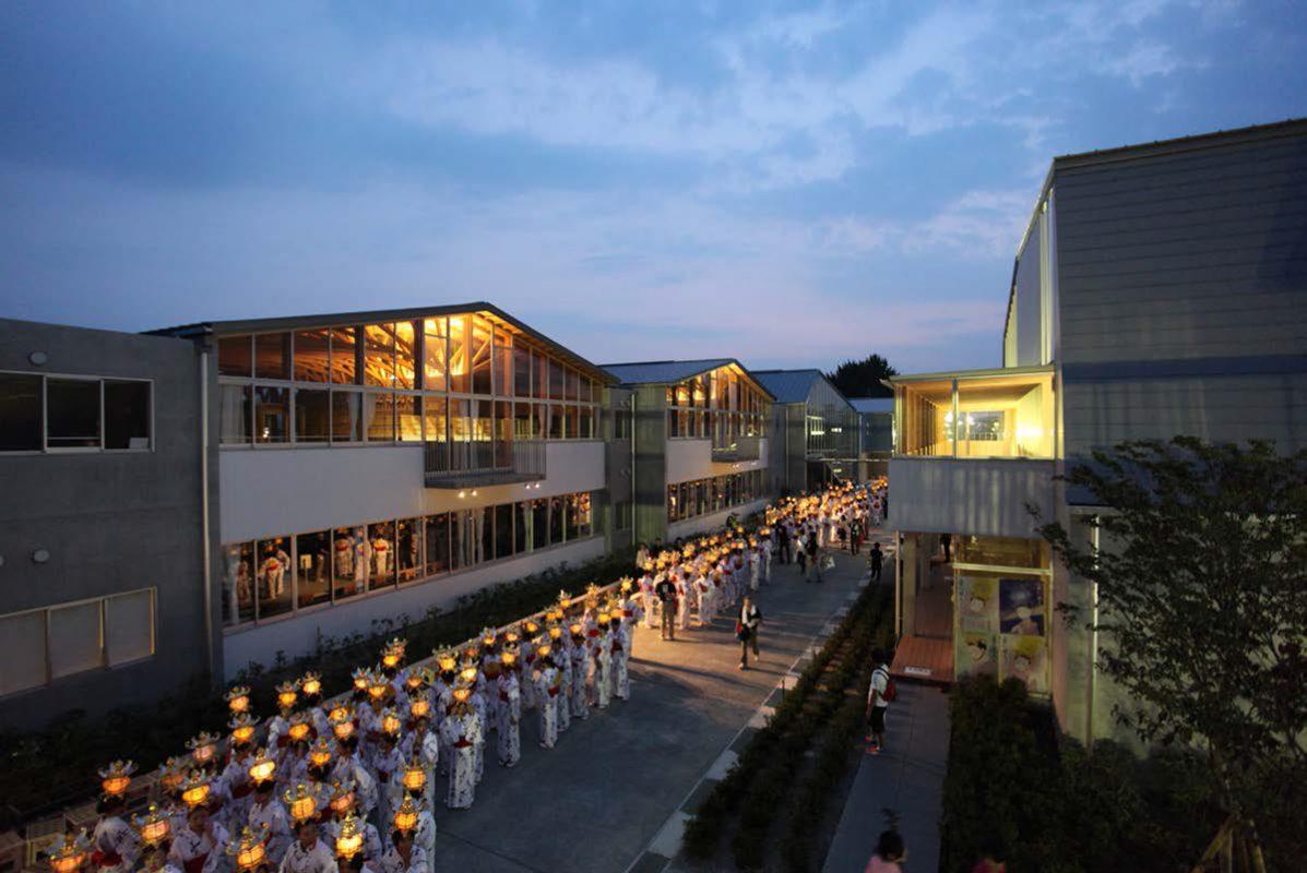 Yamaga-elementary-school-lampion-festival